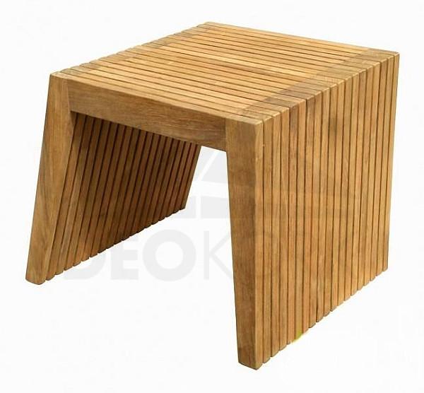 Záhradný odkladací stôl teak WELLS