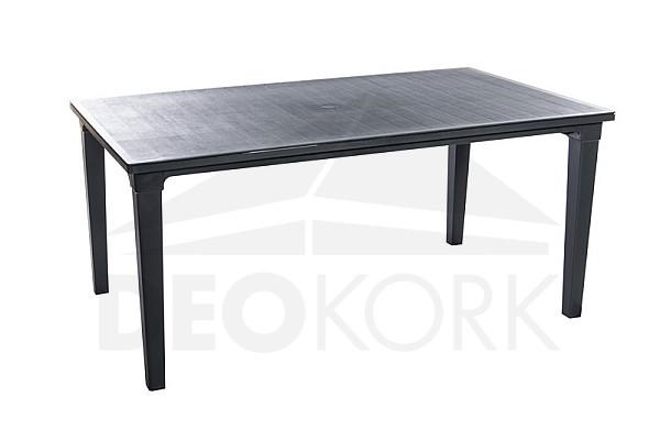 Záhradný plastový stôl UNION (antracit)