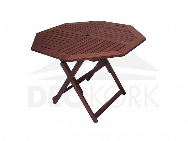 Záhradný stôl osemuholník NANCY