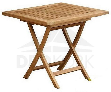Záhradný stôl teak SMART 80