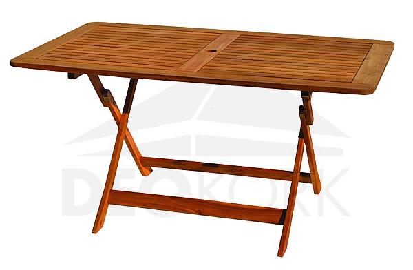 Záhradný obdľžnikový rozkladací stôl WESTMINSTER