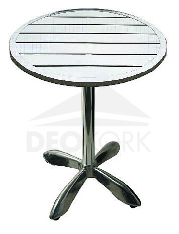Hliníkový stôl MTA 003 (? 70 cm)