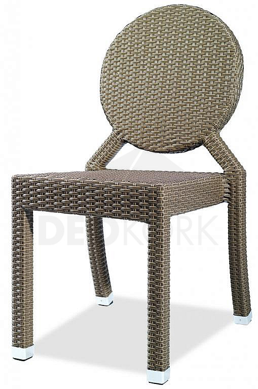Záhradná ratanová stolička C-78273