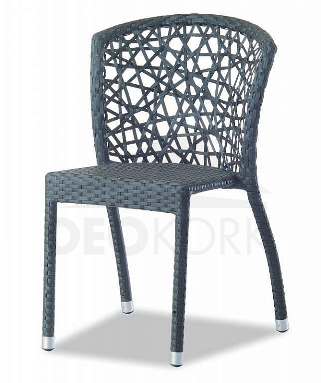 Záhradná ratanová stolička C111015