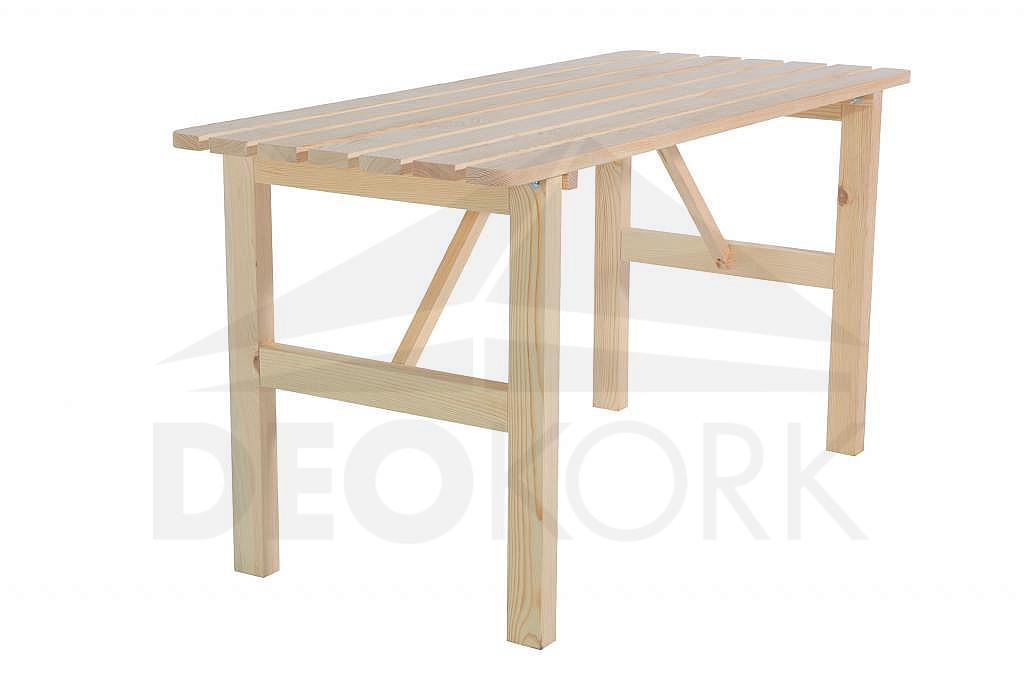 Masívny drevený záhradný stôl z borovice drevo 22 mm