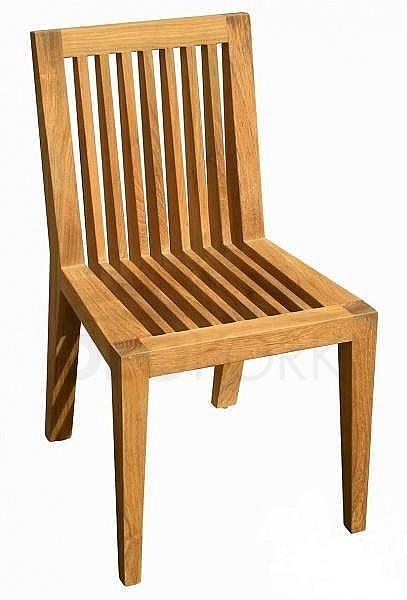 Záhradná stolička teak WELLS