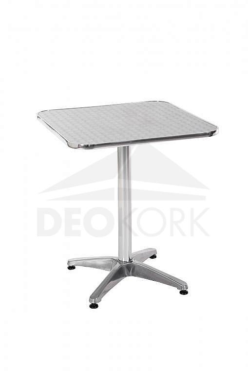 Hliníkový záhradný stôl hranatý TB02 (60x60 cm)