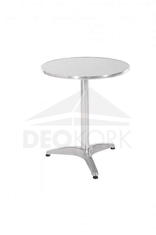 Hliníkový záhradný stôl guľatý TB01 (? 60 cm)