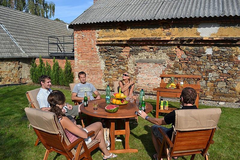 Zostava záhradného nábytku MALAGA 1+5