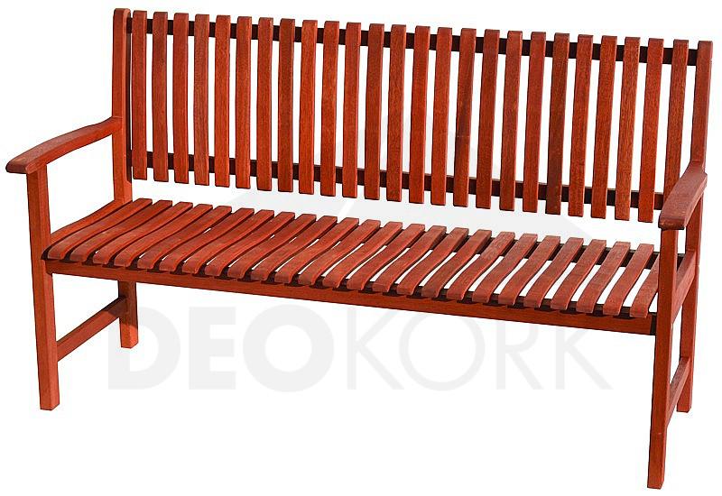 Záhradná lavica pevná trojmiestna LYON