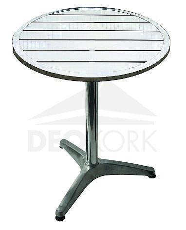Hliníkový stôl MTA 001 (? 60 cm)