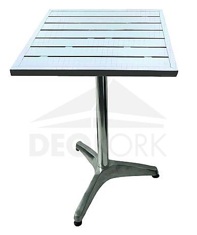 Hliníkový stôl MTA 005 (60x60 cm)