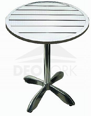 Hliníkový stôl MTA 004 (? 80 cm)