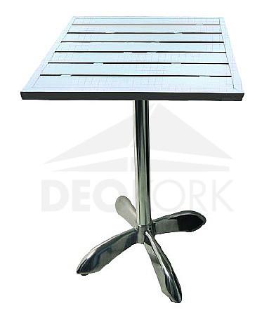 Hliníkový stôl MTA 008 (80x80 cm)