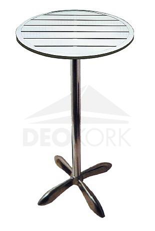 Hliníkový stôl MTA 010 (? 60 cm vysoká noha)