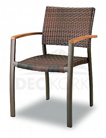 Záhradná ratanová stolička C88012-WK