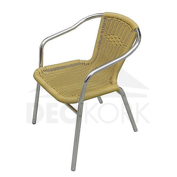 Záhradná hliníková stolička MCR 015