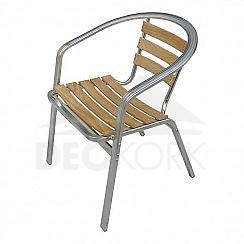 Záhradná hliníková stolička MCW 010