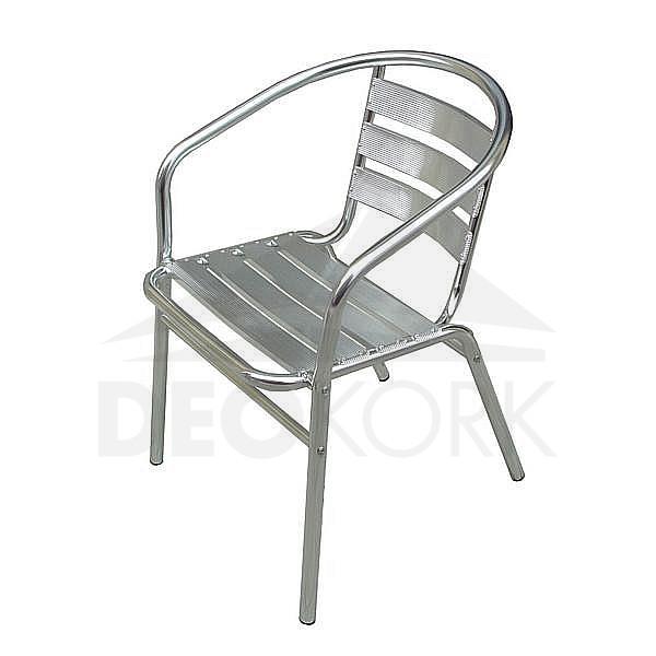 Záhradná hliníková stolička MC 011