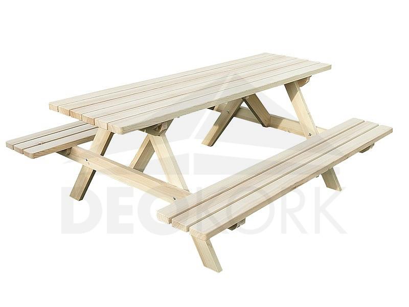 Masívny drevený pivný set z borovice drevo 38 mm