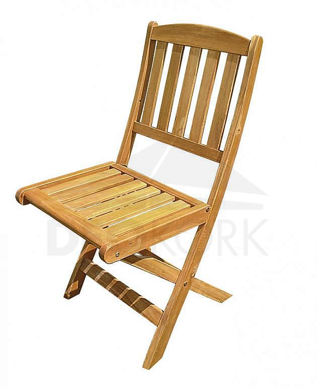 Záhradná stolička skládacia HAMILTON/OSAKA